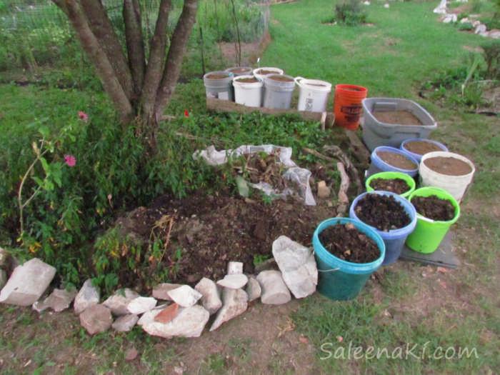 Dirt & Rocks for New Garden