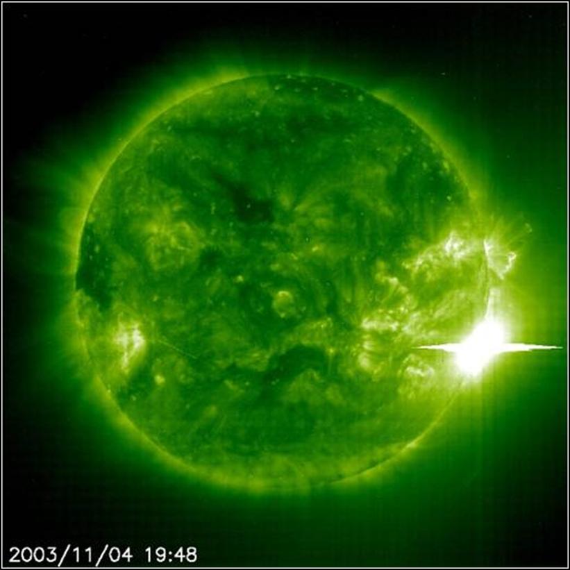 2003-11-04  X28+ Solar Flare