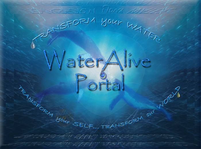 WaterAlive Portal Banner by Saleena Kí